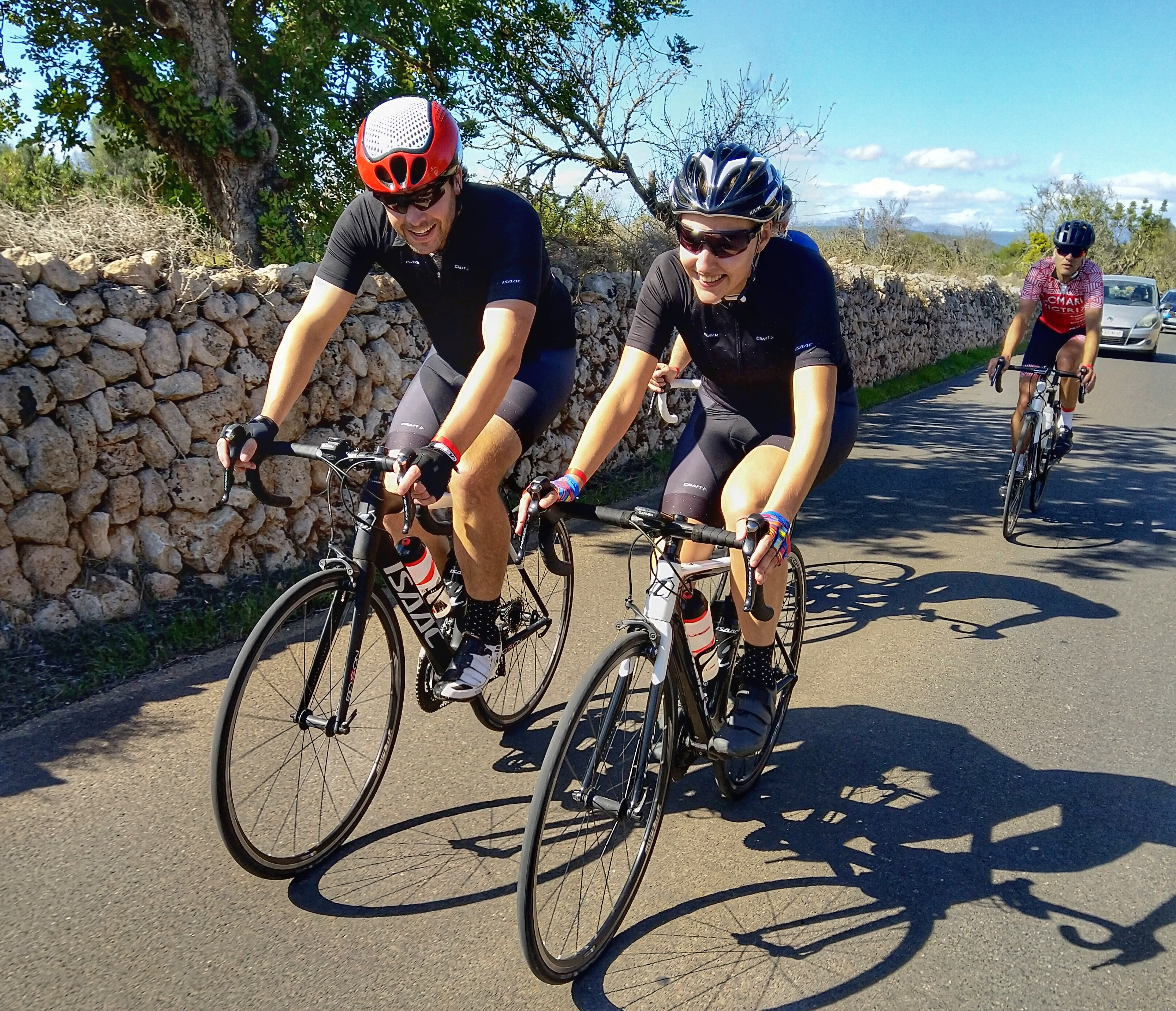 Dream cycling holiday in Majorca becomes a reality for Laura and Sam