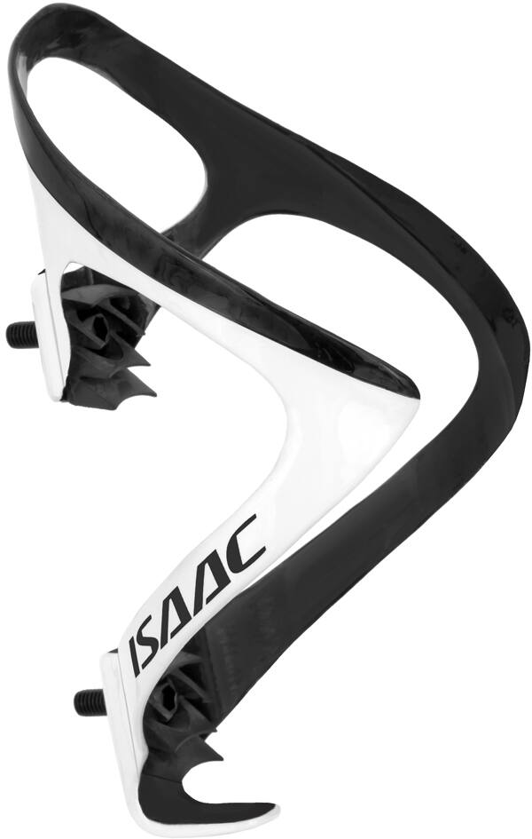 BOTTLE CAGE CARBON WHITE / BLACK MATT