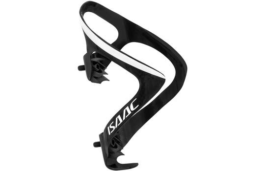BOTTLE CAGE CARBON BLACK / WHITE GLOSSY