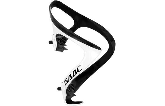 BOTTLE CAGE CARBON WHITE / BLACK GLOSSY
